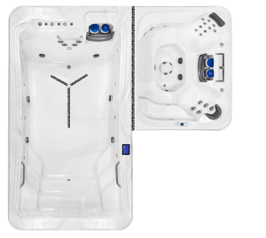 DTL-6: Includes DTL-14 Pool and DT-6 Spa