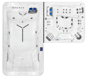 DTL-8: Includes DTL-14 Pool and DT-8 Spa